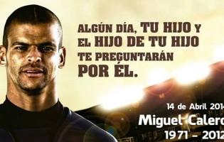Dia Internacional del Portero em homenagem a Miguel Calero
