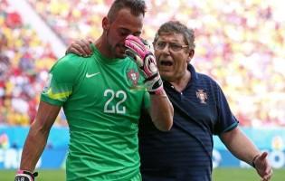 Beto chora o sentimento Português – Portugal 2-1 Gana – Mundial'2014