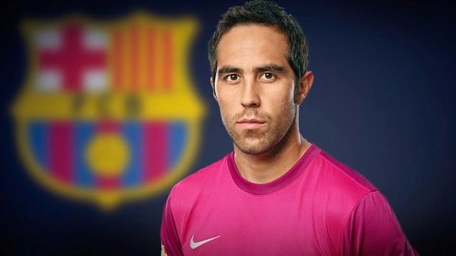 Claudio Bravo oficializado pelo Barcelona