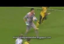 Fabiano em entrega de bola e iniciação da 1ª fase de construção – FC Porto 2-0 Lille