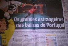 Os Guarda-Redes Estrangeiros em Portugal – por Rogério Azevedo – A Bola