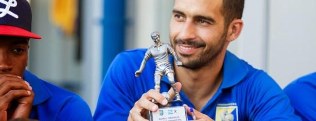 Bracali recebe prémio de MVP no Panetolikos