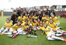 Andréia Suntaque, Thais Picarte e Luciana Maria vencem Copa América 2014 com o Brasil