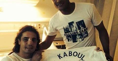 Fegrouche recebe visita de Kaboul no Hospital