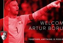 Artur Boruc emprestado ao Bournemouth
