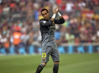 Claudio Bravo oferece camisolas por jogos sem sofrer golos