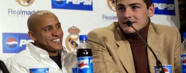 """Casillas visto como """"uma instituição"""" do Real por Roberto Carlos"""