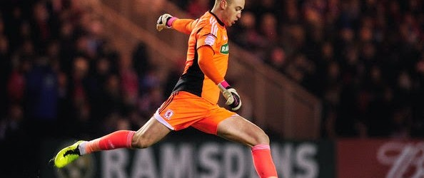 Jason Steele emprestado ao Blackburn