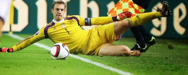 Neuer: adversário incrédulo por lhe ter marcado um golo