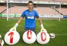 Roberto atingiu a centena de jogos na Espanha