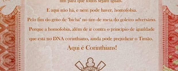 Rogério Ceni: Corinthians pede fim a cânticos homofóbicos contra o guardião