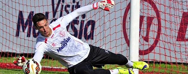 Sergio Rico protegido pelo Sevilla – Marca