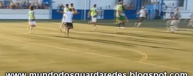 Stephane Pinheiro coloca Espinho na próxima fase após defender 2 penaltis e marcar 1 na Taça de Portugal