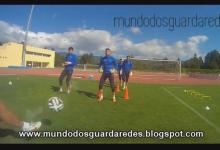 Treino de guarda-redes do Chaves – Carlos Pires com Paulo Ribeiro, Serginho, Rafa Albuquerque e Bruno Bolas