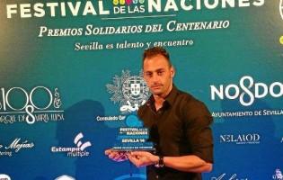 Beto galardoado pelo Consulado de Portugal em Sevilha