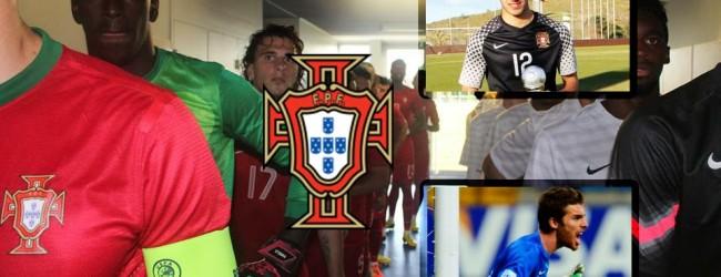 Bruno Varela, Rui Silva e José Sá por Portugal Sub-21 para duplo jogo com Holanda