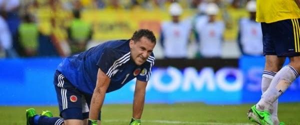 Ospina lesionado, Camilo Vargas e José Fernando Cuadrado convocados pela Colômbia para amigáveis
