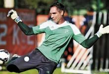 Fernando Prass regressa aos treinos