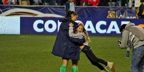 Hope Solo campeã da CONCACAF com os Estados Unidos