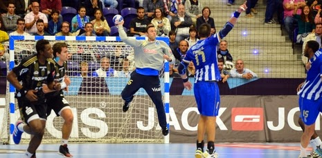 Hugo Laurentino o melhor em campo no ABC 23-26 FC Porto- Campeonato Nacional de Andebol