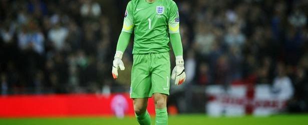 Joe Hart é o melhor em campo com 1 defesa no Inglaterra 5-0 São Marino