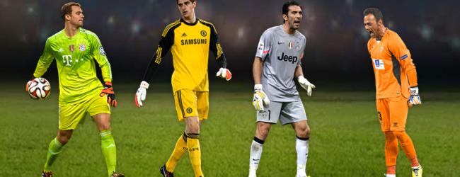 Beto, Neuer, Courtois e Buffon nomeados para o onze do ano da UEFA
