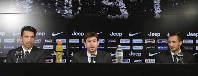 Gianluigi Buffon renova pelo Juventus