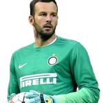 samir handanovic inter - foto de perfil 2015-2016 - imagem football club internazionale milano - miniatura