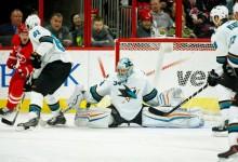 Troy Grosenick com estreia de sonho na NHL
