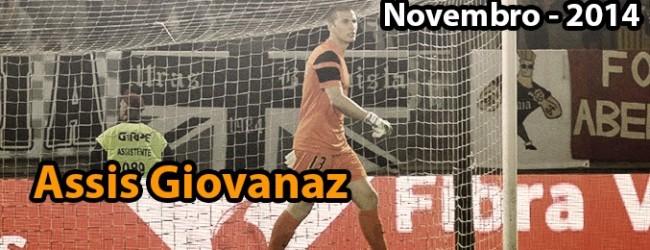 Assis Giovanaz: guardião O Mundo dos Guarda-Redes do mês de Novembro – 2014
