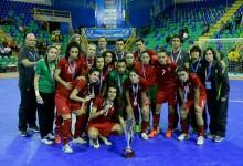 Ana Catarina Pereira, Natalina Silva e Daniela Ribeiro vice-campeãs do Mundo com Portugal