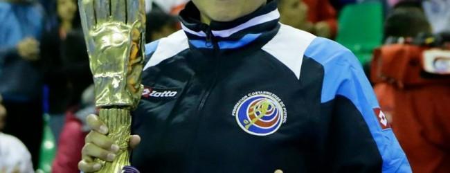 Katherine Corrales Ramirez vence prémio para melhor guarda-redes do Mundial Feminino 2014 – Futsal