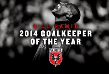 Bill Hamid vence prémio MLS Goalkeeper of the Year 2014
