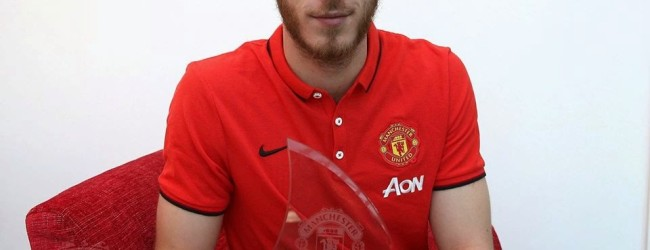 De Gea é o jogador do mês de Novembro no Manchester United