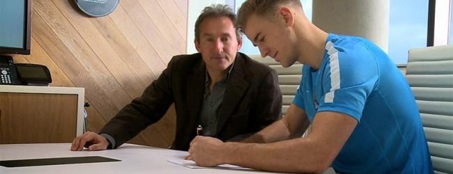 Joe Hart renova pelo Manchester City