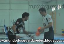 Treino de Guarda-Redes do Deportivo – José Sambade, em ginásio