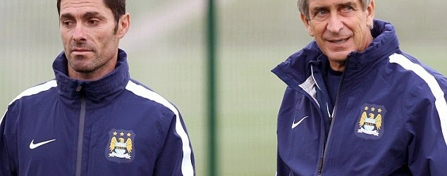 Xabier Mancisidor, treinador de guarda-redes do City, elogiado por Pellegrini