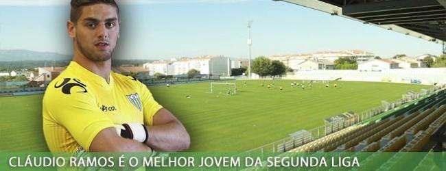 Cláudio Ramos é o Melhor Jogador Jovem da Segunda Liga em Dezembro – SJPF