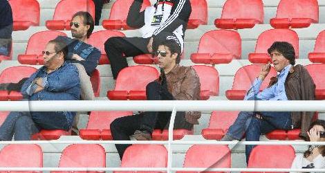 Hugo Oliveira assiste ao Benfica B 3-2 Porto B