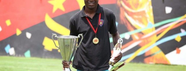 Yuri José Lambito vence Girabola Sub-20 com o 1º de Agosto e é o Melhor Guarda-Redes do campeonato