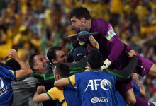 Mathew Ryan vence AFC Asian Cup 2015 e Best Goalkeeper Award pela Austrália