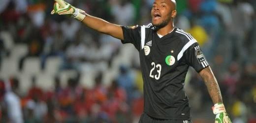 Raïs M'Bolhi Vs Darren Keet – Estatísticas – Argélia 3-1 África do Sul