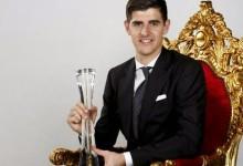 Courtois vence prémio Soulier d'Or para melhor Belga no estrangeiro pelo segundo ano consecutivo