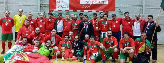 Marco Amaro e José Ricardo vencem a Clericus Cup 2015 com Portugal – Euro de Futsal de Padres