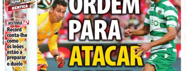 Artur Moraes será pressionado como parte da estratégia do Sporting – Record