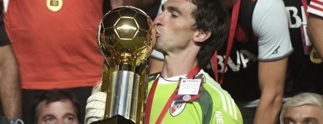 Barovero vence Recopa Sul-Americana 2015 pelo River Plate