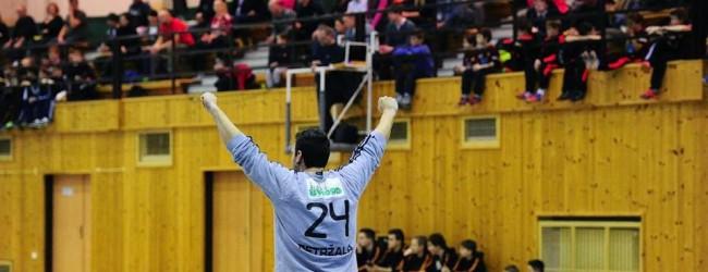 Tomas Petrzala esforçou-se mas Dukla Praha perde por 42-27 contra ABC
