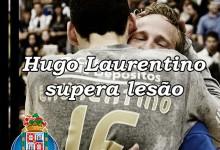Hugo Laurentino regressa após 3 meses de lesão e emociona Dragão Caixa – Porto 36-28 ISMAI