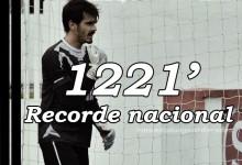 João Botelho bate Baía e torna-se o guarda-redes com mais minutos consecutivos sem sofrer golos na história dos campeonatos nacionais – 1211