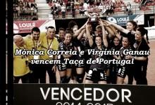 Mónica Correia, Catarina Oliveira e Virgínia Ganau vencem Taça de Portugal de Andebol Feminino pelo Madeira SAD